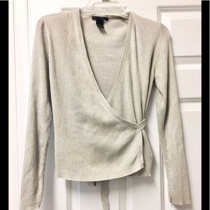 The Limited Sweaters - Sparkling ✨ The Limited silk blend sweater set!